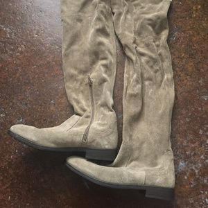 Aldo Suede Over The Knee Boots